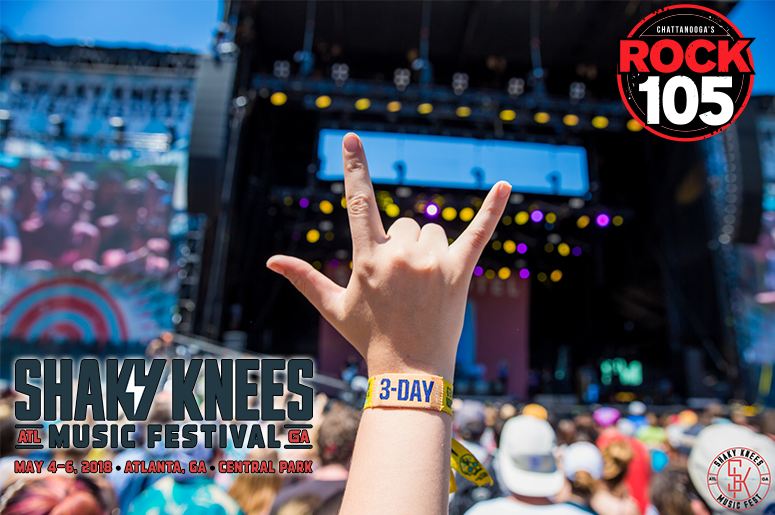 Register now for your chance to win tickets to the Shaky Knees Music Festival!