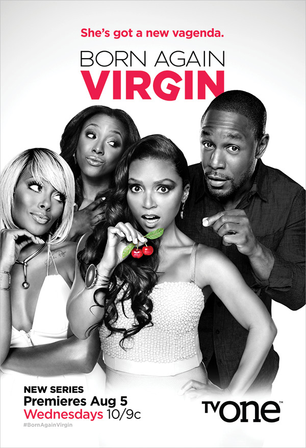 TV One Born Again Virgin Poster