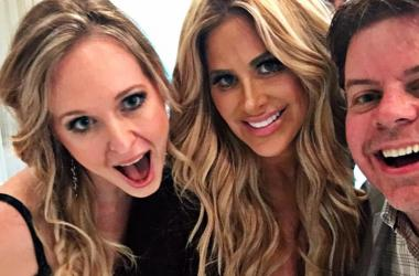 Jeff, Callie, and Kim Zolciak