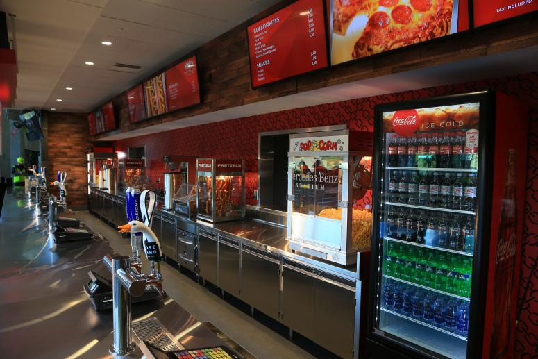 ATL Grill Concessions Stand