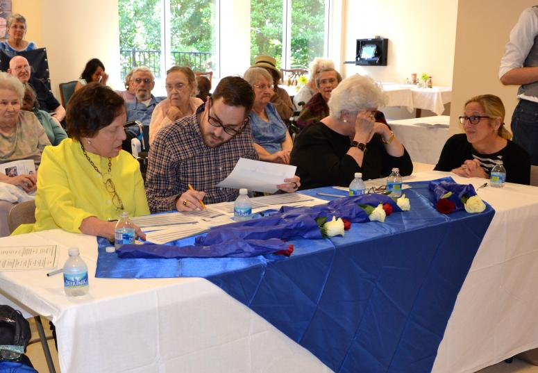 Judges Tallying Scores