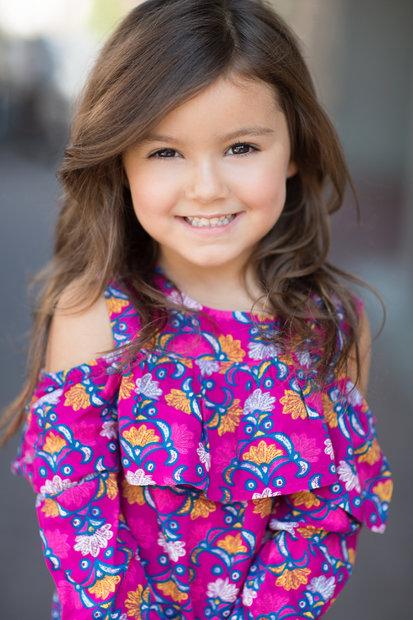 Arya Colon Stars Agency Portfolio Child Actor