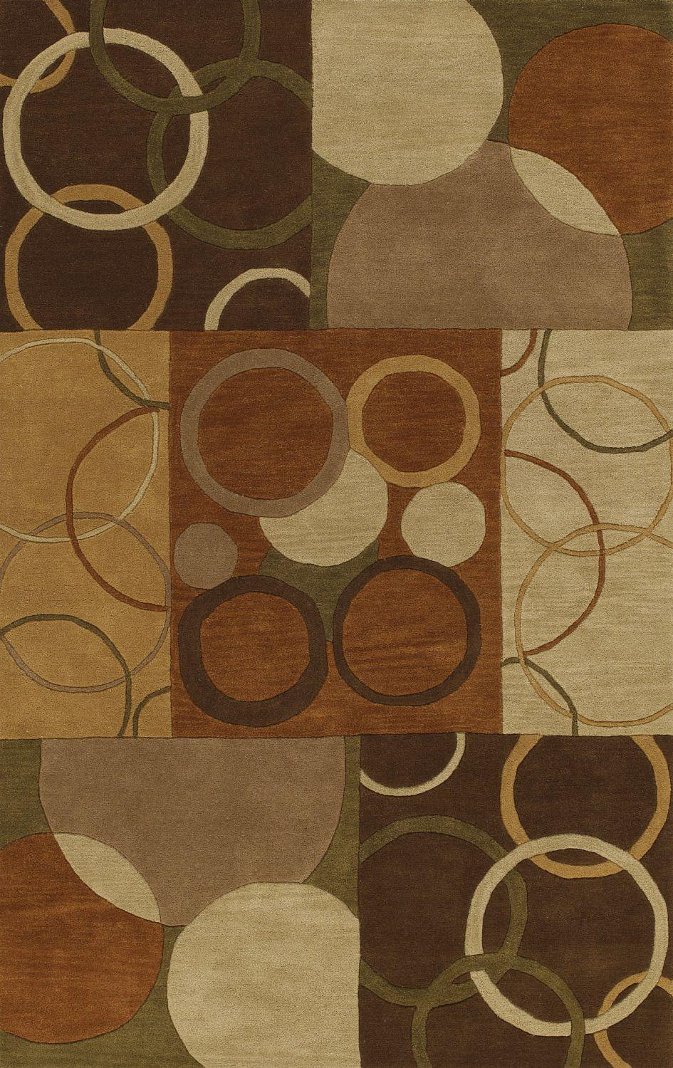 Super Area Rugs 5x7-5x8 Rug NEW Modern Area Rugs Contemporary Carpet SALE Wool Hand Tufted 5ft. X 7ft. 6in. Multi at Sears.com