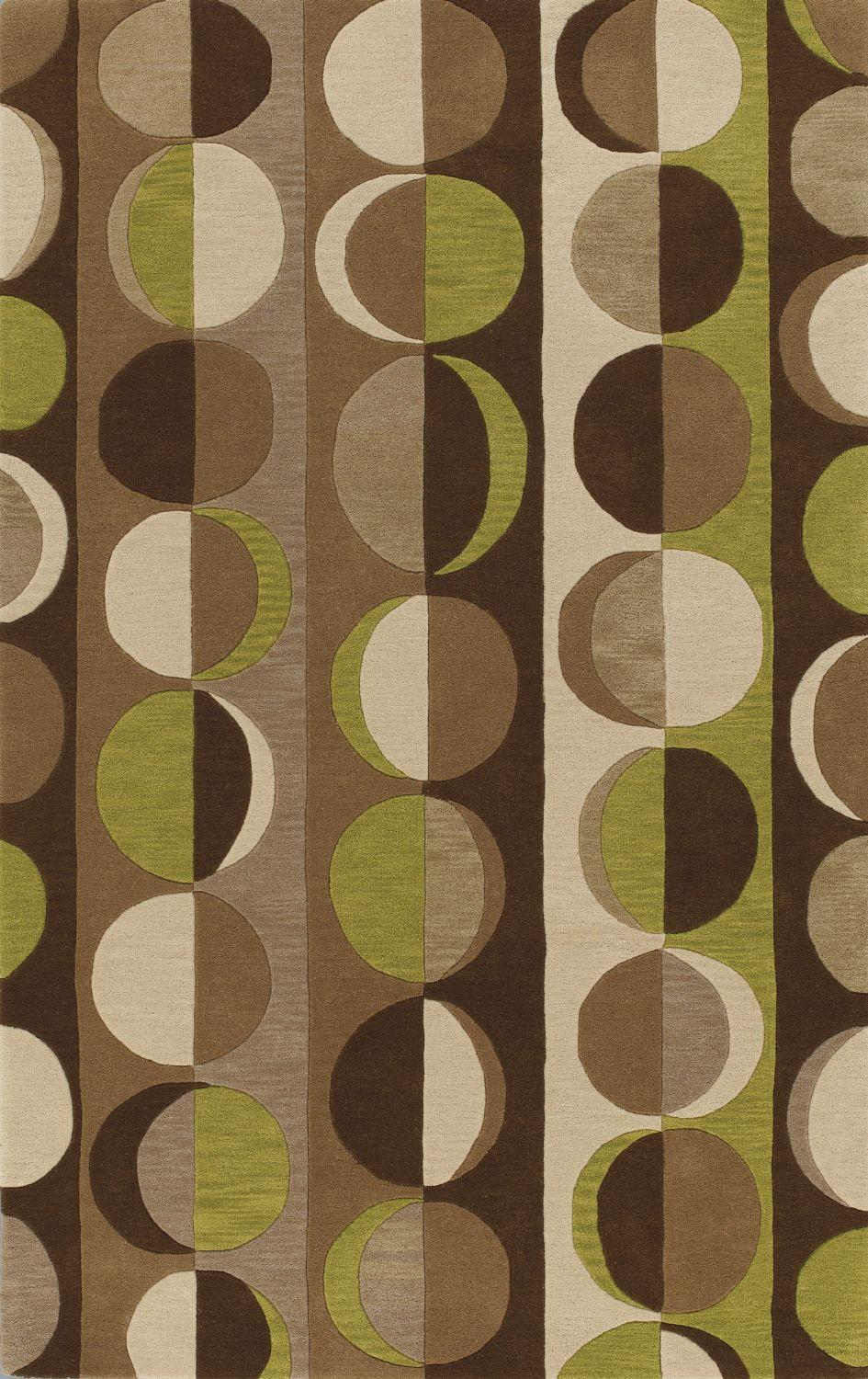 Super Area Rugs 5x7-5x8 Rug NEW Modern Area Rugs Contemporary Carpet SALE Wool Hand Tufted 5ft. X 7ft. 6in. Brown at Sears.com