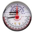 """LFDPTG-3L 2-1/2"""" Pressure & Temperature Gauge (0-75 psi)"""