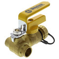 "1/2"" Sweat PRO-PAL Ball Valve w/ Drain"