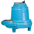 16S-CIM 1 HP, 160 GPM, 230V - Manual Submersible Sewage Ejector Pump, 40ft power cord