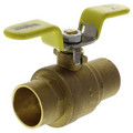 "1"" Sweat Full Port Ball Valve w/ T-Handle"