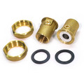 "3/4"" GU 125 Bronze Union Isolation Valve Pair (NPT)"