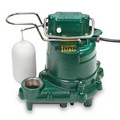 Model M57 Mighty-Mate Automatic Cast Iron Effluent Pump - 115 V, 0.3 HP