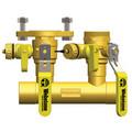 1-1/4 Sweat Run x 1-1/4 Hydro-Core Left Flange Manifold