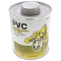 1 qt. Medium Body, Fast Set PVC Cement (Clear)