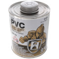 1 qt. Heavy Body, Slow Set PVC Cement (Clear)
