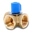"1-1/4"" Brass 3-Way Mixing Valve"