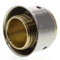 "Zero Lead Bronze 3/4"" PEX Press Test Plug w/ Attached Sleeve"