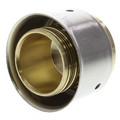 "Zero Lead Bronze 1"" PEX Press Test Plug w/ Attached Sleeve"
