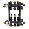 3-Loop EP Radiant Heat Manifold Assembly w/ Flow Meters