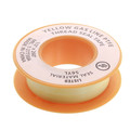 "1/2"" x 260"" Thread Sealing Tape (Teflon, Yellow/Gas)"