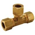 "(64-5) 5/16"" OD Brass Compression Tee"