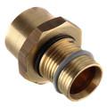 """1"""" PEX-AL-PEX Press x Copper Pipe Adapter"""
