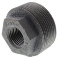 "1-1/2"" x 1/2"" Black Hexagon Bushing"