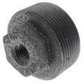 "1-1/2"" x 1/4"" Black Hexagon Bushing"