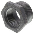 "1-1/4"" x 1"" Black Hexagon Bushing"