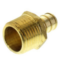 "1/2"" PEX x 1/2"" NPT Brass Male Adapter (Lead Free)"