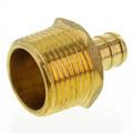 "1/2"" PEX x 3/4"" NPT Brass Male Adapter (Lead Free)"