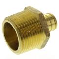 "3/4"" PEX x 1"" NPT Brass Male Adapter (Lead Free)"