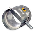 "7"" Round Static Pressure Regulating Damper"