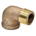 "1/8"" Brass 90 Deg Street Elbow, Lead Free (Threaded)"