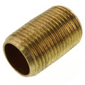 "3/8""x Close Brass Nipple"