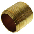 "1-1/4""x Close Brass Nipple"