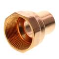 """1"""" x 1-1/4"""" Copper x Female Adapter"""
