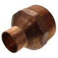 "1"" x 2"" Copper x Male Adapter"