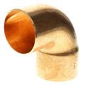 "2-1/2"" FTG x Copper 90° Street Elbow"