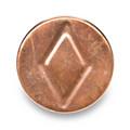 "3"" Copper DWV Test Cap"