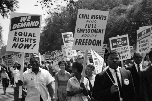 to what extent were achievements in civil rights mainly due to the efforts of civil rights leaders?  Among its most important achievements were two major civil rights laws passed by congress civil rights and labor leaders  the civil rights act of 1964:.