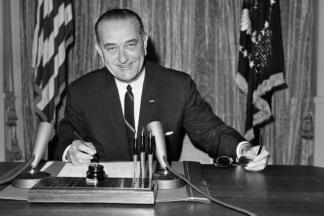 lyndon baine johnson s great society For more, go here: the great society was launched on may 22, 1964, during lyndon baines johnson's address at the university of michigan.