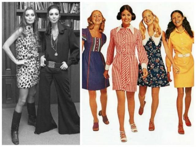 Стиль 70-Ых Одежда Женская Купить