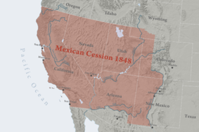 Mexican Cession (War with Mexico)