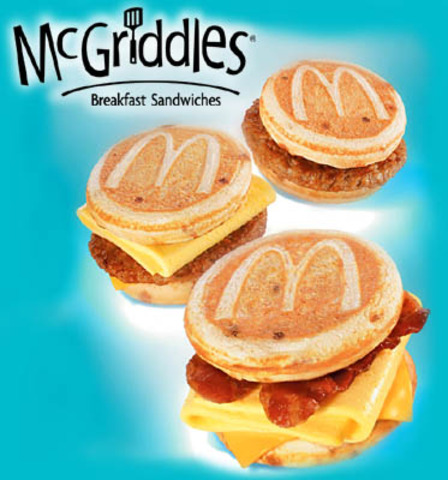 Premium Salads and McGriddles