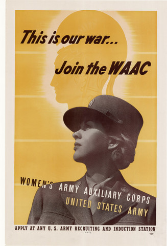 Congress Makes the Women's Auxiliary Corps Official