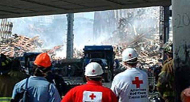 Red Cross Responds to 9/11
