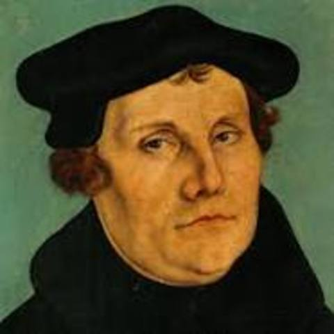 Luther is born