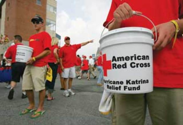 Red Cross Responds to Hurricane Katrina