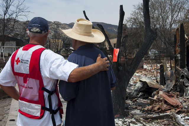 Red Cross Responds to Yarnell Hill Fire
