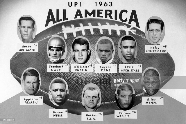 All American Football team meets JFK!