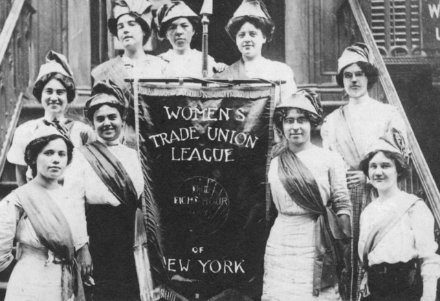 Women Working in Labor Unions